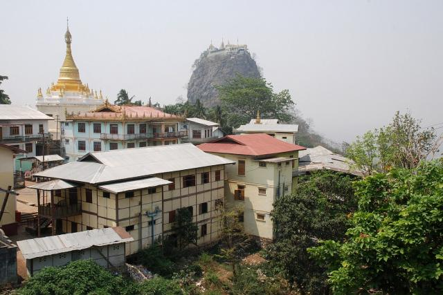 Hora Popa a její bohové připomínají dávnou barmskou historii