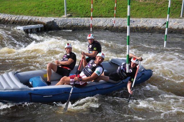 Češi jsou v raftingu velmi dobří,  ačkoli se o tom nemluví tolik,  jako o úspěších v jiných sportech | foto: Jiří Čondl,  Český rozhlas