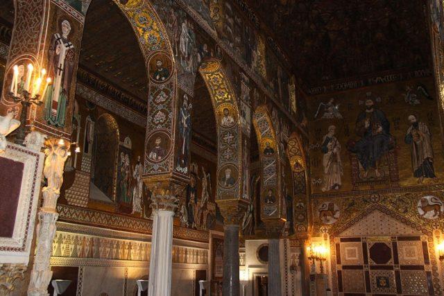 Cappella Palatina, Palatinská kaple