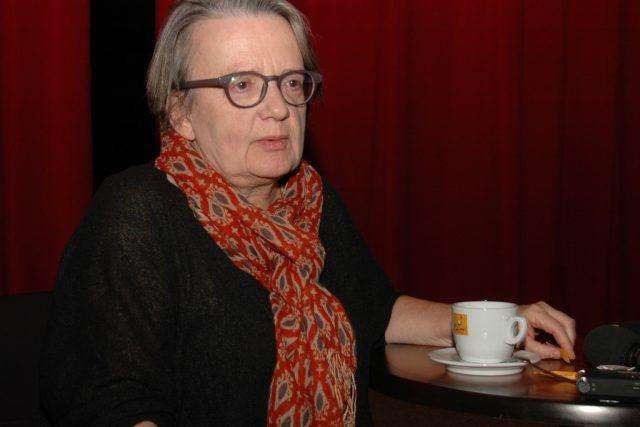 Režisérka Agnieszka Hollandová