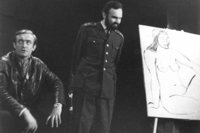 Oldřich Unger a Zdeněk Svěrák v představení Divadla Járy Cimrmana | foto: archiv Divadla J. Cimrmana,  E. Vondráčková