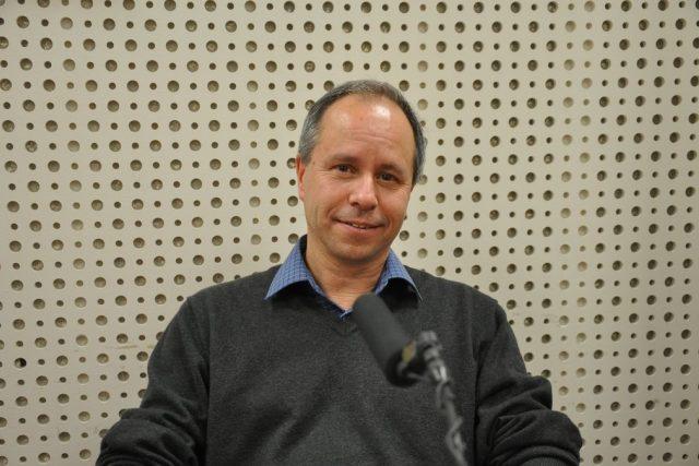 Pavel Suchan ve studiu Reginy