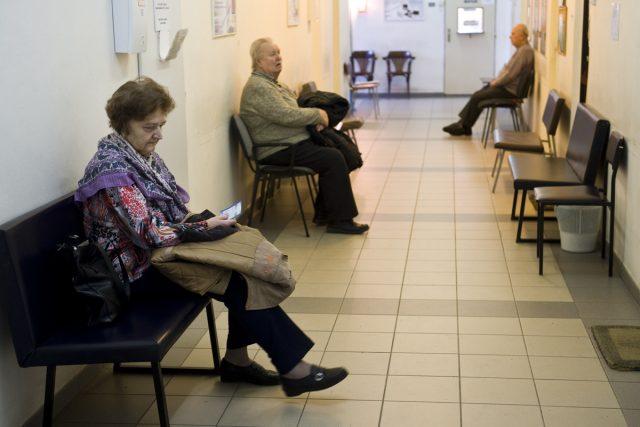 Čekárna v nemocnici (ilustrační foto)