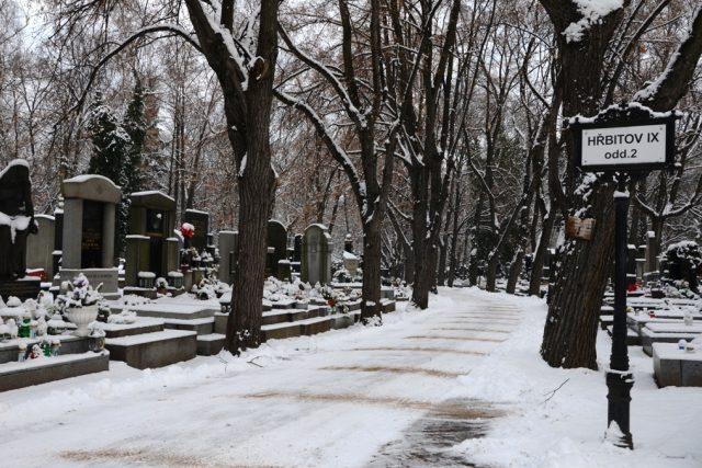 Hřbitov (ilustr. foto)