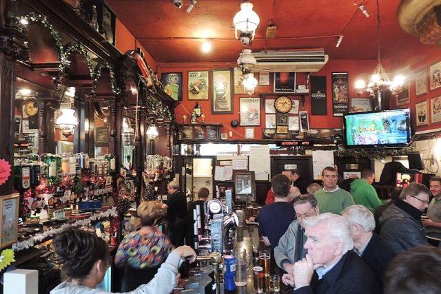 Skotsko - skotský pub