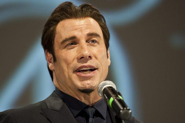 John Travolta na Mezinárodním filmovém festivalu v Karlových Varech