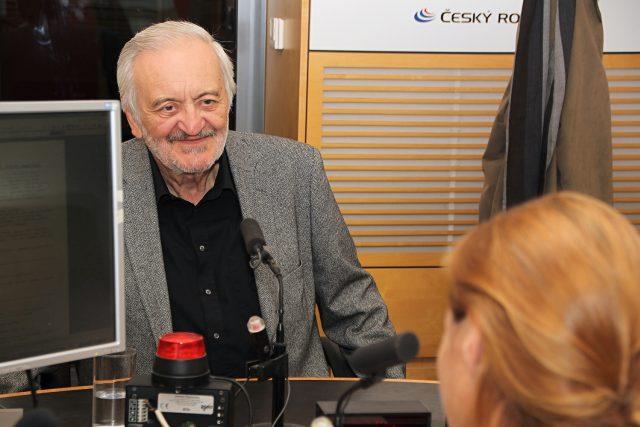 Herec a spisovatel Milan Lasica | foto: Alžběta Švarcová,  Český rozhlas