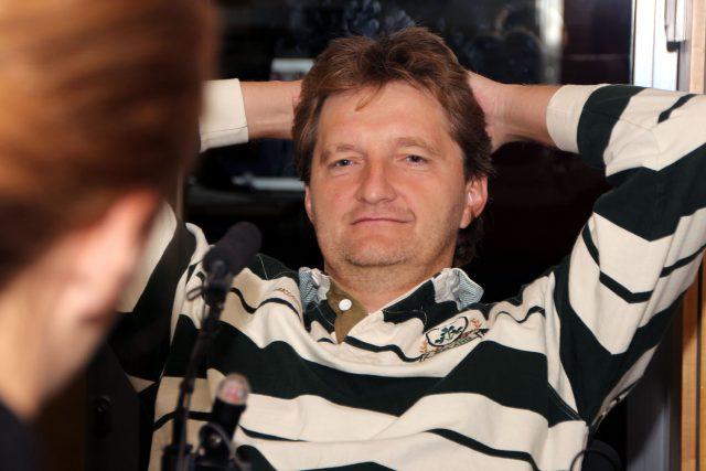 Jaromír Bosák,  sportovní komentátor   foto: Šárka Ševčíková,  Český rozhlas