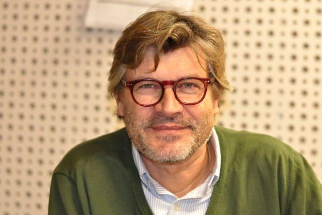 Pavel Maurer ve studiu Reginy