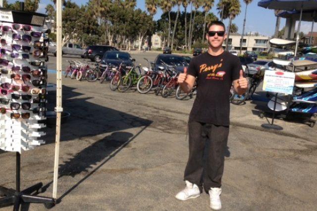 Ryan si prací na pláži splnil svůj sen