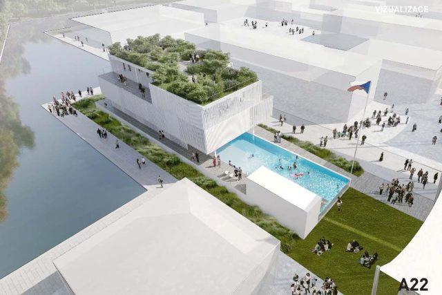 Vítězný návrh českého pavilonu na výstavě Expo 2015 v Miláně od vizovické firmy Koma