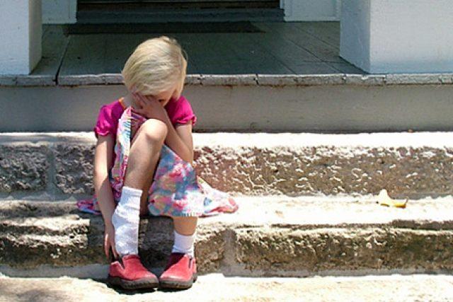 smutné dítě - smutek - problémy dětí   foto: Fotobanka stock.xchng