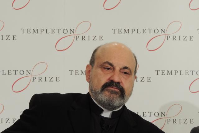 Duchovní a filosof Tomáš Halík dostal Templetonovu cenu   foto: Jiří Hošek