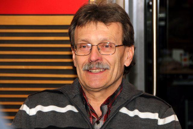 Jan Řehounek z Klubu čtenářů Bohumila Hrabala