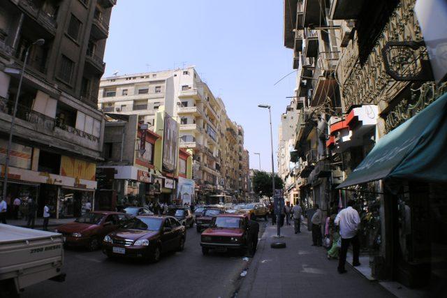 Káhira je rušné velkoměsto se vším všudy
