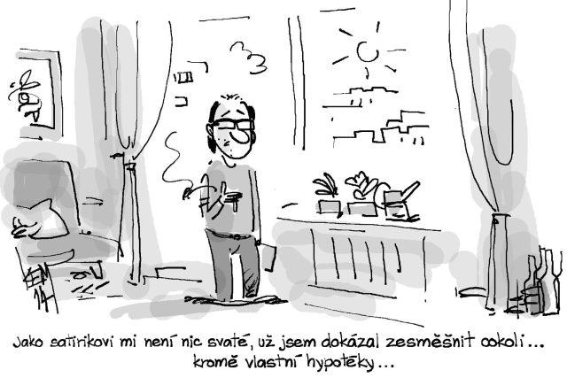 karikatura Miroslava Kemela