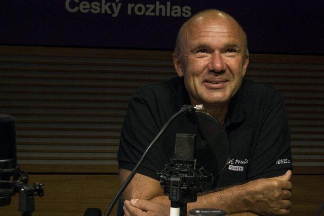Jiří Pruša ve studiu Dvojky