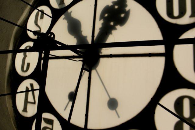 Ciferník věžních hodin