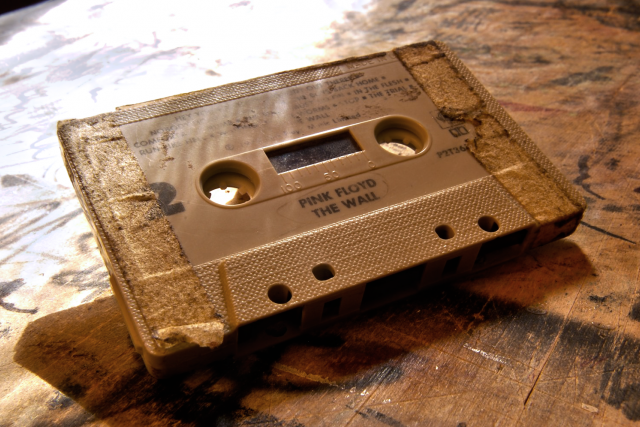 Magnetofonová kazeta alba The Wall (Pink Floyd)