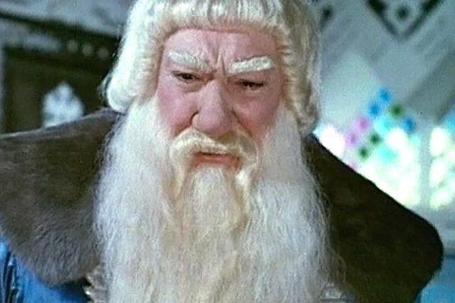 Děda Mráz z ruské pohádky Mrazík