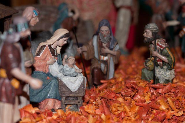 Scéna narození Ježíše Krista