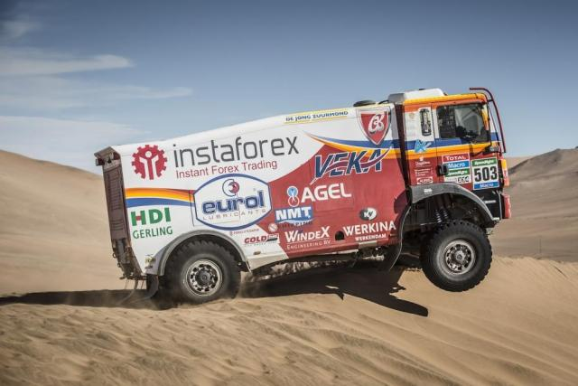 Aleš Loprais na Rallye Dakar 2015 | foto: Jan Říha,  Český rozhlas