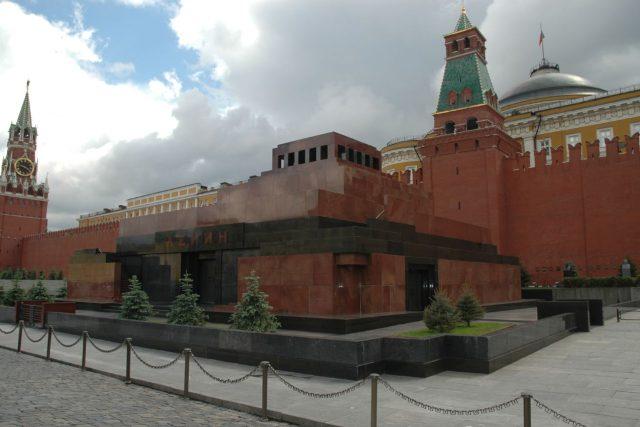 Leninovo mauzoleum, Moskva