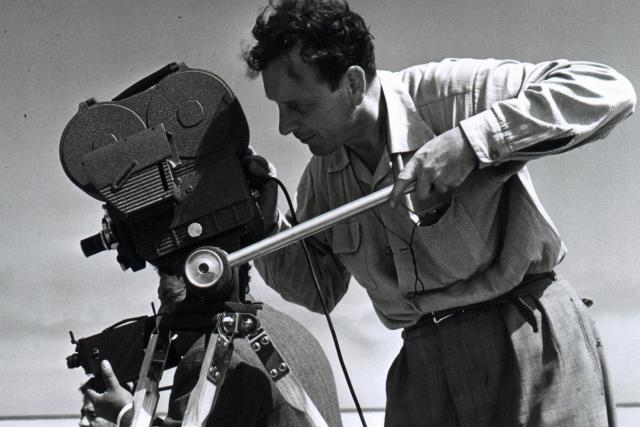 Eduard Ingriš za kamerou