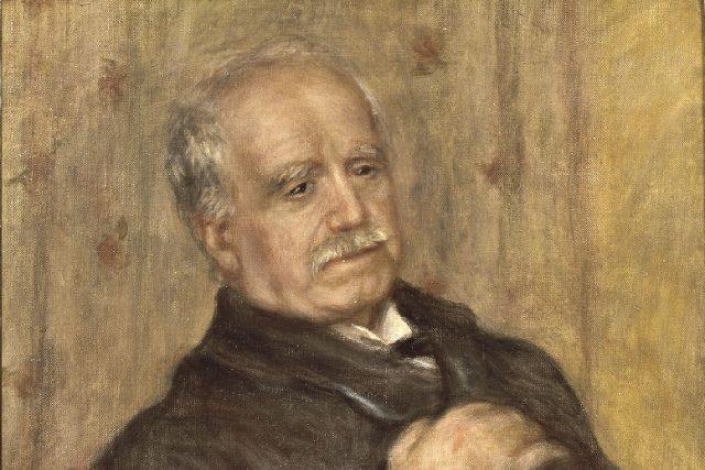 Pierre-August Renoir,  Paul Durand-Ruel  (1910) | foto:  Archives Durand-Ruel © Durand-Ruel & Cie