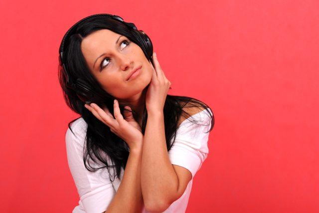 hudba, muzika, sluchátka