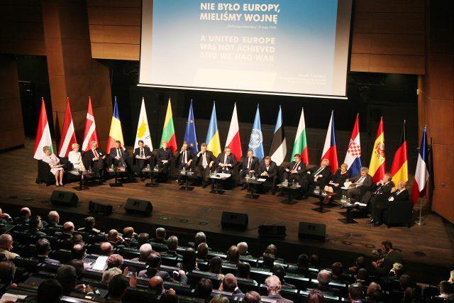 Panelová diskuze k výročí konce druhé světové války v polském Gdaňsku