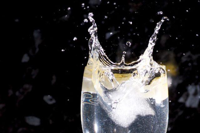 voda, vinný střik, víno, pití