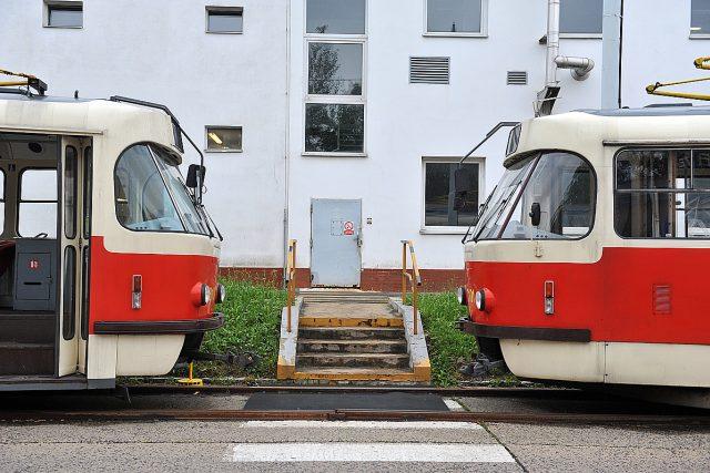 Tramvaj typu Tatra T3 v Praze