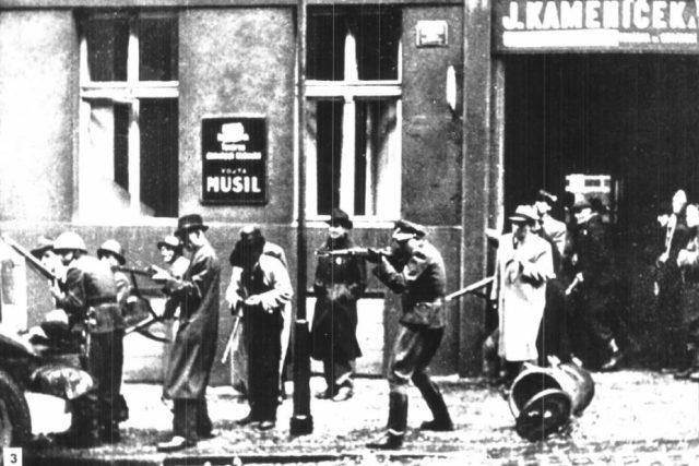 Pražské povstání – z bojů poblíž rozhlasu