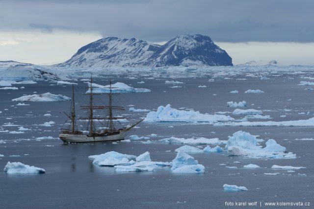 Dobývání Antarktidy  (ilustrační snímek)   foto: Karel  Wolf