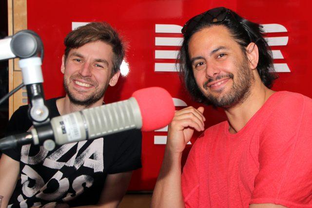 Lukáš Trpišovský a Martin Kukučka,  režisérské duo SKUTR   foto: Šárka Ševčíková,  Český rozhlas