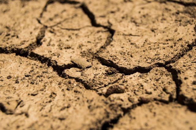 Sucho, vyprahlost, země, půda (ilustrační foto)