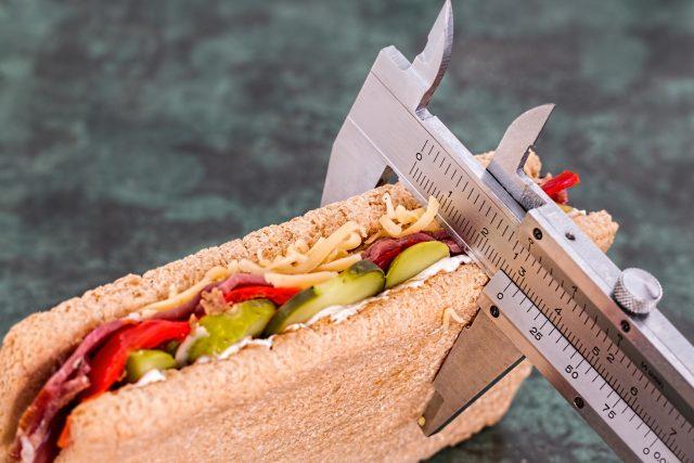 dieta, sendvič