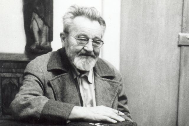 Jan Werich v roce 1975 | foto: Wikimedia Commons,  Creative Commons Attribution-Share Alike 4.0 International,   archiv Jaromíra Pelce