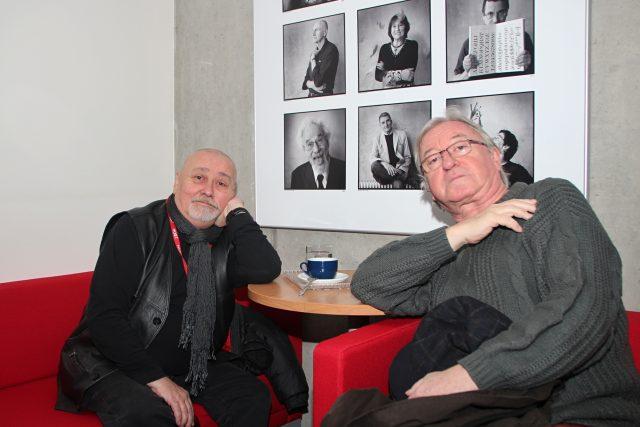 Jiří Lábus a Ota Jirák dabují Jů a Hele už 35 let