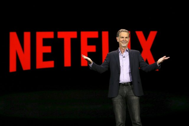 Šéf Netflixu Reed Hastings