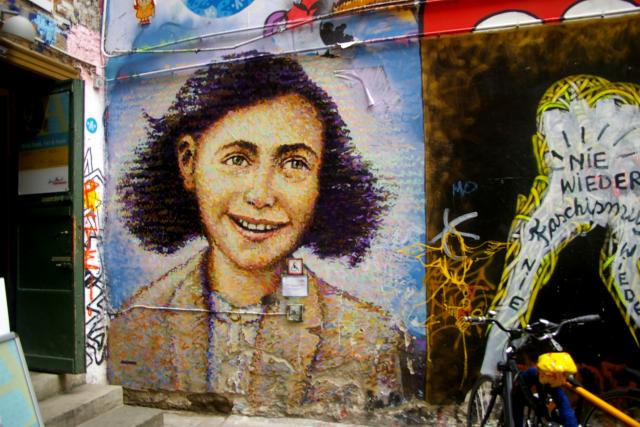 Anna Franková, portrét, Berlín