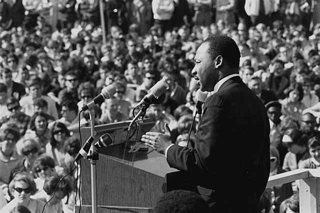 Martin Luther King v roce 1967