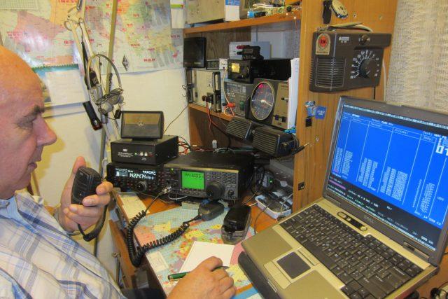 Ludvík Kouřil, radioamatér