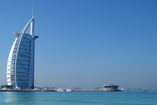 Hotel Burj Al Arab v Dubaji, Spojené arabské emiráty