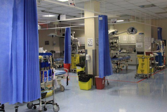 Nemocnice na základně u afghánského Kábulu, kde pracuje i tým českých lékařů
