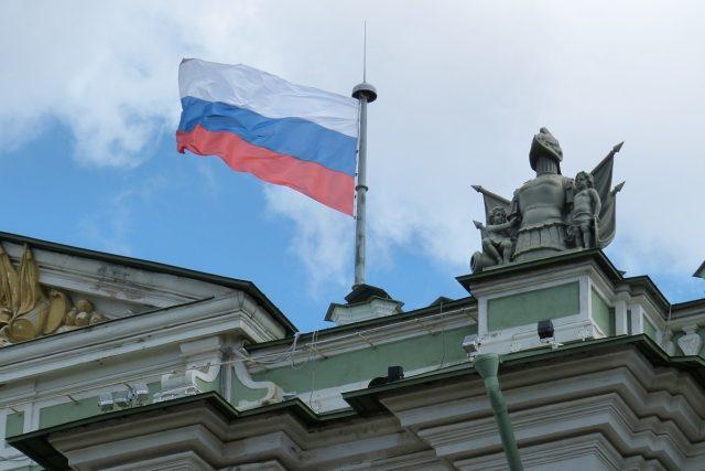 Ruská vlajka (ilustrační foto)