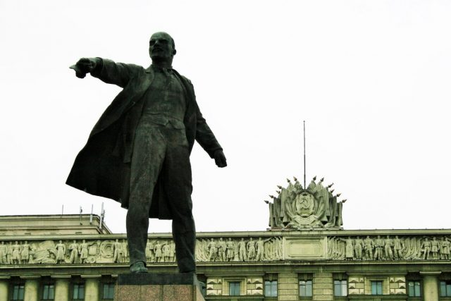 Socha Lenina