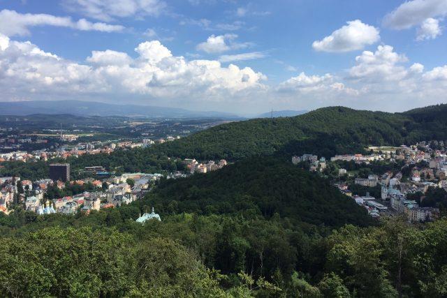 Karlovy Vary a okolí | foto: Ondřej Vaňura,  Český rozhlas