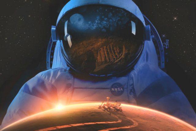 Člověk na Marsu